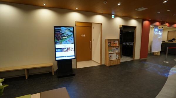 THE POCKET HOTEL 京都四条烏丸のエントランススペース